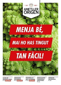 Ofertas de Ametller Origen  en el folleto de Tarragona