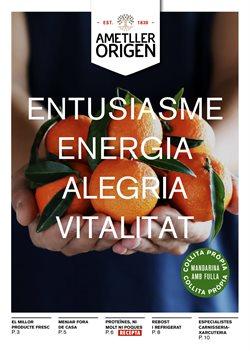Ofertas de Ametller Origen  en el folleto de Barcelona