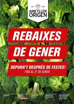 Ofertas de Verdura  en el folleto de Ametller Origen en Barcelona