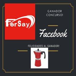 Ofertas de Fersay en el catálogo de Fersay ( Publicado hoy)