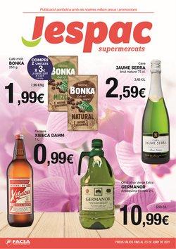 Ofertas de Supermercats Jespac en el catálogo de Supermercats Jespac ( 8 días más)