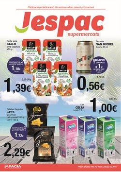 Ofertas de Supermercats Jespac en el catálogo de Supermercats Jespac ( Caduca hoy)