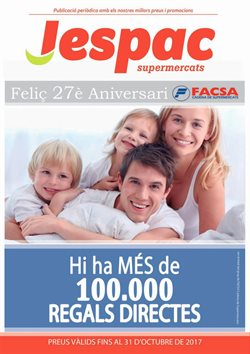 Ofertas de Supermercats Jespac  en el folleto de Barcelona