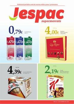 Catálogo Supermercats Jespac en Barcelona ( 2 días más )