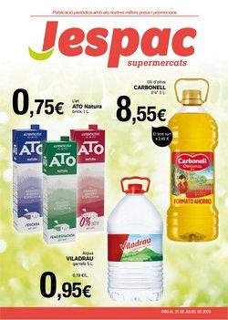 Catálogo Supermercats Jespac en Barcelona ( 13 días más )