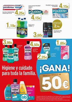 Ofertas de Carefree en Supermercats Jespac