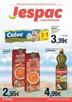 Catálogo Supermercats Jespac ( 30 días más)