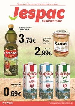 Ofertas de Supermercats Jespac en el catálogo de Supermercats Jespac ( Caducado)