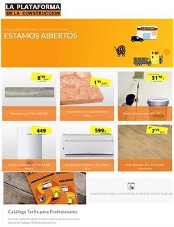 Catálogo La Plataforma de la Construcción en Zaragoza ( 2 días más )