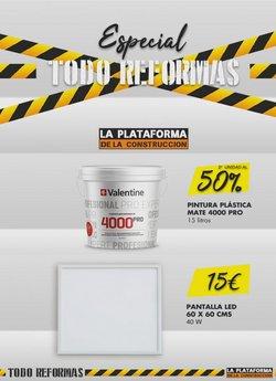 Catálogo La Plataforma de la Construcción ( 18 días más)