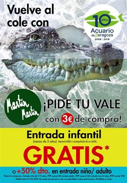 Ofertas de Martín Martín  en el folleto de Zaragoza