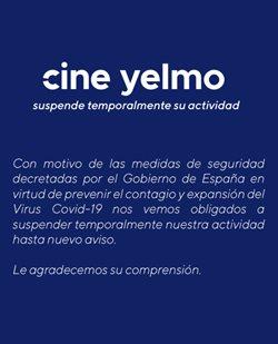 Ofertas de Ocio en el catálogo de Yelmo cines en Sant Andreu de la Barca ( Caduca hoy )