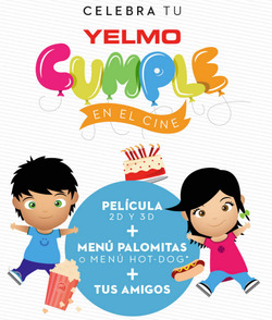 Ofertas de Ocio  en el folleto de Yelmo cines en San Cristobal de la Laguna (Tenerife)