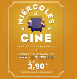 Ofertas de Ocio  en el folleto de Yelmo cines en El Ejido