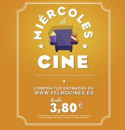 Cupón Yelmo cines en Gijón ( Más de un mes )