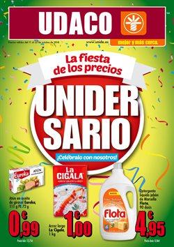 Ofertas de UDACO  en el folleto de Santa Lucía de Tirajana