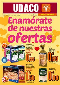 Ofertas de UDACO  en el folleto de Ávila