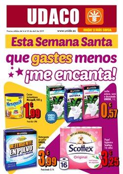 Ofertas de UDACO  en el folleto de Valencia