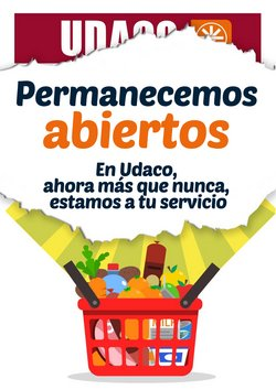 Ofertas de Hiper-Supermercados en el catálogo de UDACO en Molina de Segura ( 2 días más )