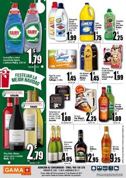 Ofertas de Detergente líquido  en el folleto de GAMA en La Orotava