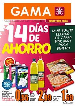 Ofertas de GAMA  en el folleto de Valencia