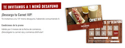 Ofertas de Taberna Santamaría  en el folleto de Madrid