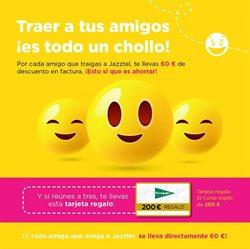 Ofertas de Jazztel  en el folleto de Madrid