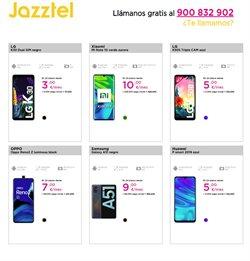 Ofertas de Smartphones Huawei en Jazztel