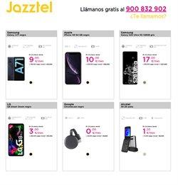 Ofertas de Google en Jazztel