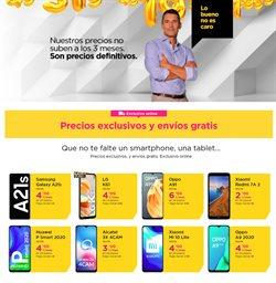 Ofertas de Smartphones Xiaomi en Jazztel