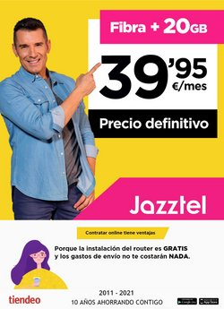 Catálogo Jazztel ( 20 días más)