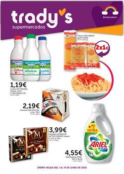 Ofertas de Hiper-Supermercados en el catálogo de Supermercados Tradys en Cerdanyola del Vallès ( 3 días publicado )