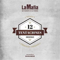 Ofertas de Restauración  en el folleto de La Mafia se sienta a la mesa en San Cristobal de la Laguna (Tenerife)