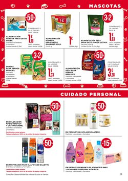 Ofertas de Tinte de pelo  en el folleto de Supercor Exprés en A Coruña
