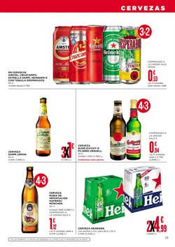 Ofertas de Heineken  en el folleto de Supercor Exprés en La Orotava