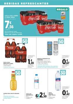 Ofertas de Coca-Cola Zero en Supercor Exprés