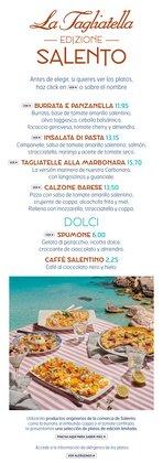 Ofertas de Restauración en el catálogo de La Tagliatella ( Más de un mes)