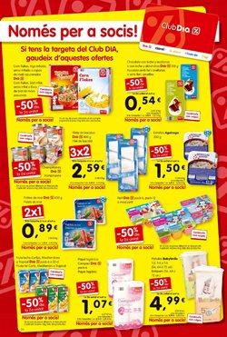 Ofertas de Pañales  en el folleto de Dia Market en Palamos