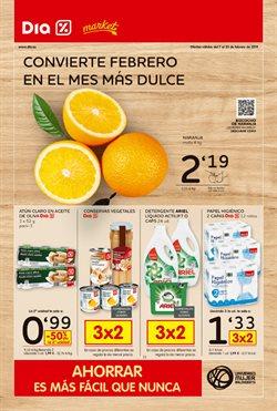 Ofertas de Conservas  en el folleto de Dia Market en Palamos