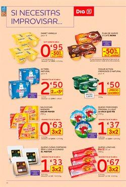 Ofertas de Flan de huevo  en el folleto de Dia Market en Madrid
