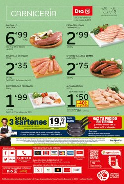 Ofertas de Coren  en el folleto de Dia Market en El Ejido
