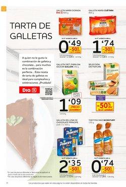 Ofertas de Galletas rellenas  en el folleto de Dia Market en Alicante