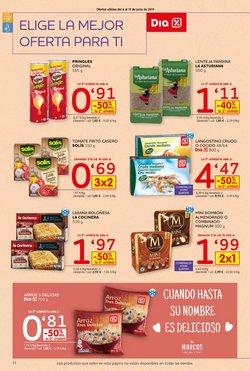 Ofertas de Lasaña  en el folleto de Dia Market en Algeciras