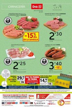 Ofertas de Hamburguesas  en el folleto de Dia Market en Jaén