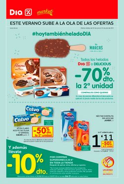 Ofertas de Dia Market  en el folleto de Zaragoza