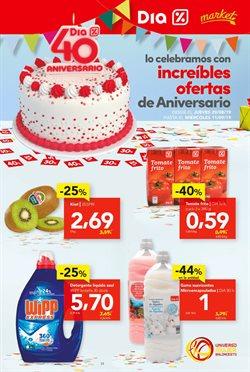 Ofertas de Hiper-Supermercados  en el folleto de Dia Market en Arévalo