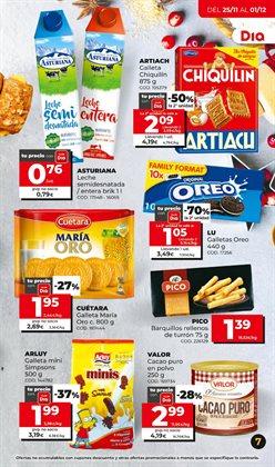 Ofertas de Galletas Chiquilín en Dia Market