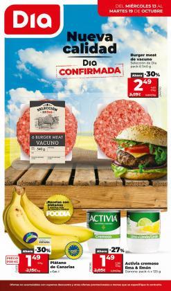 Ofertas de Dia Market en el catálogo de Dia Market ( Caduca hoy)