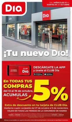 Catálogo Dia Market ( 3 días más)