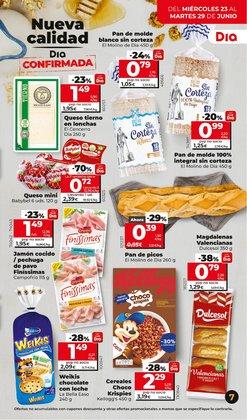 Ofertas de Campofrío en el catálogo de Dia Market ( Publicado ayer)